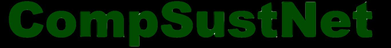 CompSustNet
