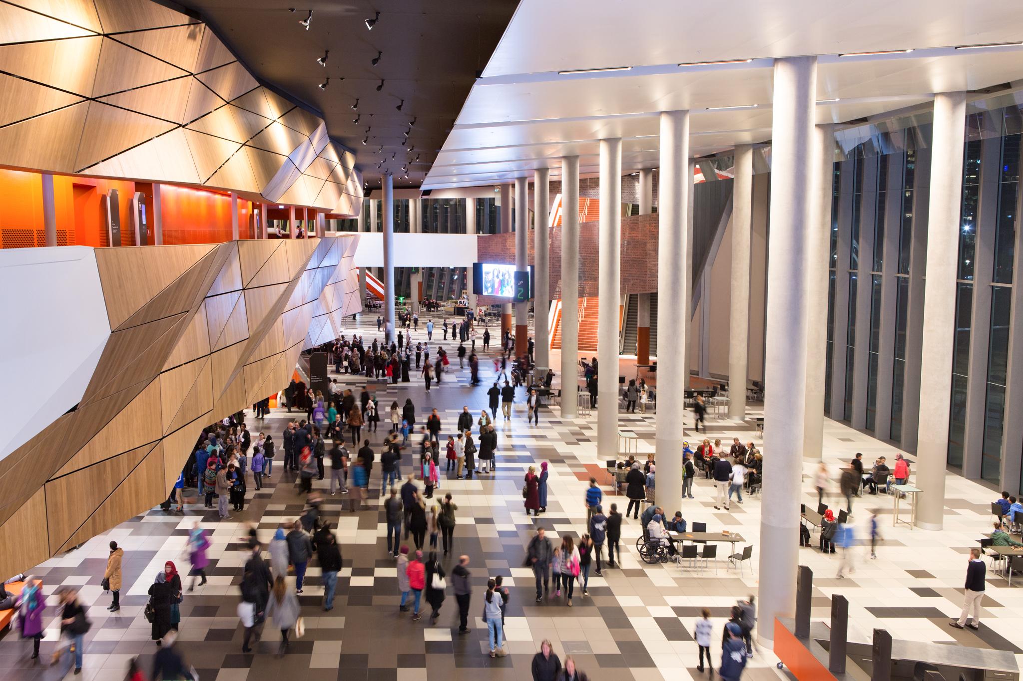 Melbourne Exhibition Centre Foyer